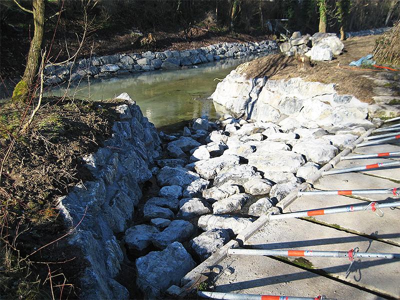 Hochwasserentlastung Lorze
