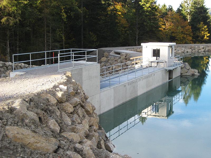 Kraftwerk am Ijentalerbach