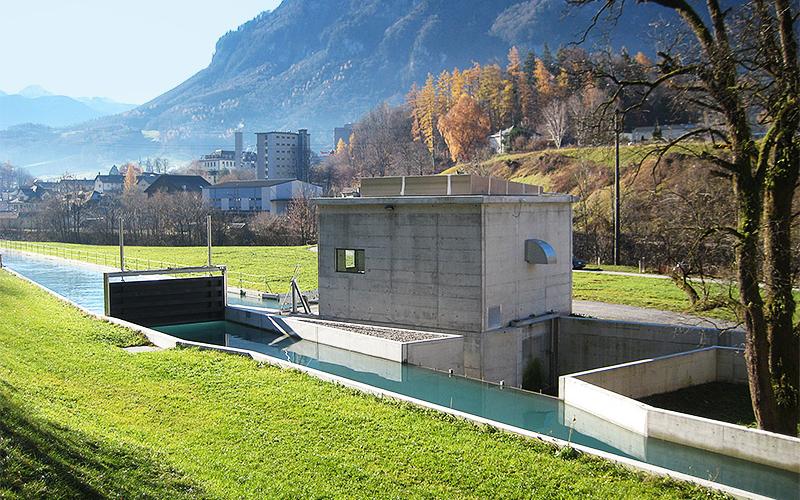 Wasserkraftwerk Walzmühle